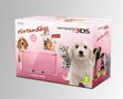 Nintendo 3DS Console Pink + Nintendogs Golden Retriever (3DS)