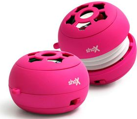 Shox - Mini Speaker ESX102 - Pink