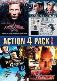 Action 4 Pack Volume 3 - (Region 1 Import DVD)