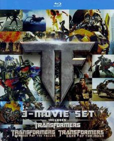 Transformers Trilogy Gift Set - (Region A Import Blu-ray Disc)