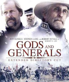 Gods and Generals:Extended Director's - (Region A Import Blu-ray Disc)