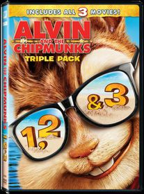 Alvin and the Chipmunks 1, 2 & 3 (DVD Box Set)