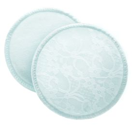 Avent - Breast Pads - Washable - Cotton - Lace - 6 Units
