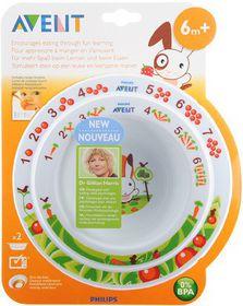Avent - Toddler 2 Bowl Set