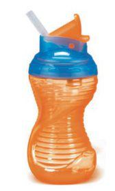 Munchkin - Flip Straw Cup - Orange