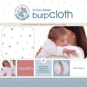 Babysense - Burp Cloth - Stone
