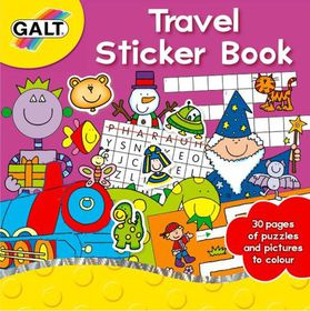 GALT - Travel Sticker Book