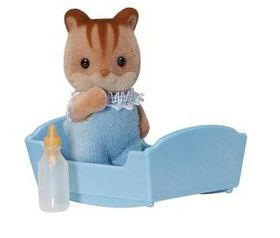 Sylvanian Family - Walnut Squirrel Baby
