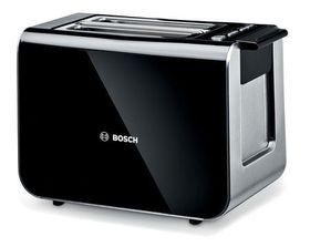 Bosch 'Styline' 860W Toaster - Black/ Stainless Steel