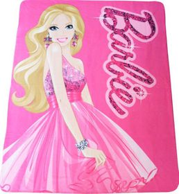 Barbie Polar Fleece Throw
