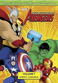 Marvel The Avengers: Earth's Mightiest Heroes Vol.1 (DVD)