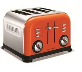 Morphy Richards - 4 Slice Toaster - Orange
