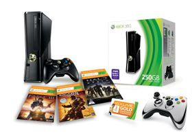 Xbox 360 Console S 250GB Extreme Value Bundle + Free Silver Chrome Controller (Xbox360) *Save R600