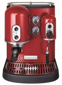 KitchenAid - Artisan Espresso Maker Red