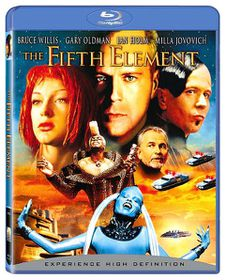 Fifth Element (Remastered Version) - (Region A Blu-ray)