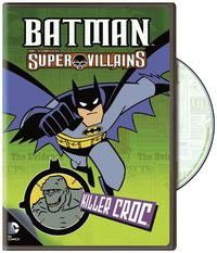 Batman Animation Super Villains Killer Croc (DVD)
