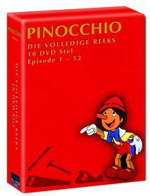 Pinocchio Volledige Afrikaanse Stel (DVD)