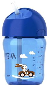Avent - Straw Cup 260ml - Blue