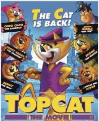 Top Cat The Movie (DVD)