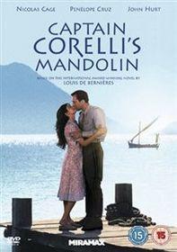 Captain Corelli's Mandolin (Import DVD)