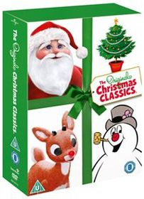 Santa Claus Is Comin' to Town/Rudolph the Red Nose Reindeer (Import DVD)