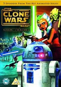 Star Wars - The Clone Wars: Season 1 - Volume 2 (Import DVD)