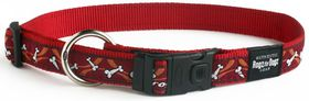 Rogz - Fancy Dress Extra-Large Armed Response Dog Collar - Red
