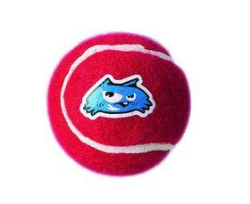 Rogz - Dog Molecule Electron Ball - Medium 6.5cm - Red