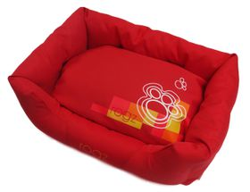 Rogz - Dog Spice Pod Bed - Medium (72cm x 45cm x 25cm) - Tangerine