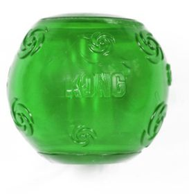 Kong Dog Toy Squeezz Ball - Large (Colours May Vary)