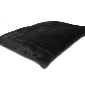 Wagworld - Snuggle Rug - Large (75cm x 100cm) - Black