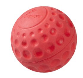 Rogz Dog Asteroidz Ball Large 78mm - Red