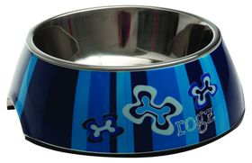 Rogz - Dog Bubble Bowl 2-in-1 - Large 700ml - Navy