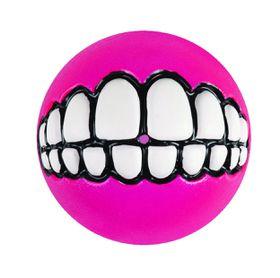 Rogz Dog Ballz Grinz Treat Dispenser 64mm - Pink