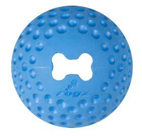 Rogz - Dog Gumz Treat Ball - Small 4.9cm - Blue