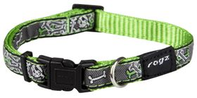 Rogz Fancy Dress Small Jellybean Dog Collar - Lime