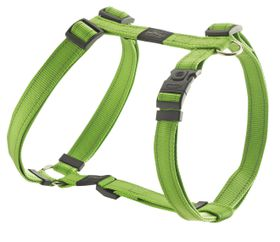 Rogz - Utility Large Fanbelt Dog H-Harness - Lime