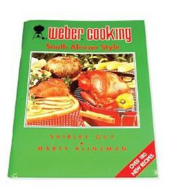 Weber - Cooking South African Style Cookbook - by Shirley Guy and Marty Klinzman
