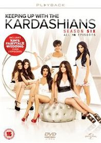 Keeping Up With The Kardashians: Series 6 (Import DVD)