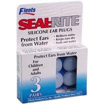 Flents Ear Plugs Seal Rite Silicone 3 Pairs