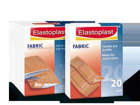 Elastoplast Fabric Plaster Strips - 20's -  47086