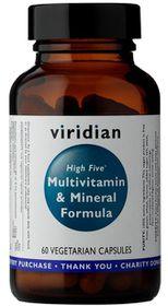 Viridian High Five Multivitamin & Mineral Formula Vegetarian Capsules (60)