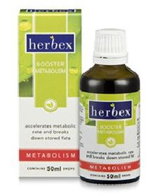 Herbex Booster Metabolism Drops - 50ml