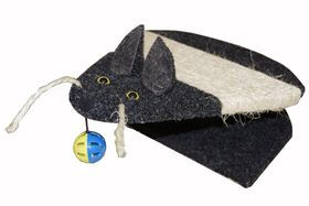 Scratzme - Cat Scratching Area With Rope & Mouse Toy