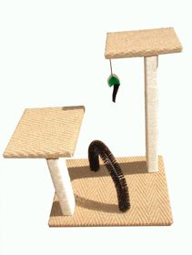 Scratzme - Scratz Twice Scratching Post including Brush