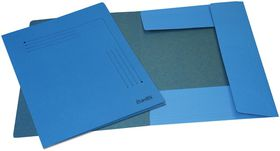 Bantex 3 Flap Document Smart Folder - Blue (Pack of 10)