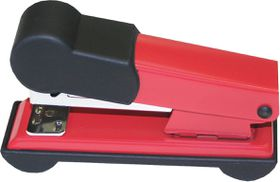 Bantex Metal Small Half Strip Home Stapler - Red