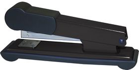 Bantex Metal Medium Half Strip Office Stapler - Black
