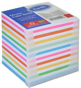 Bantex Memo Cube Refill 800s - Rainbow