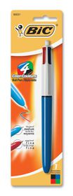 BIC 4 Colours Grip Medium Ballpoint Pen